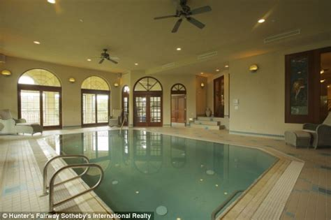 Luxury Bathrooms by Stunning Italian Style Mansion With Two Pools A