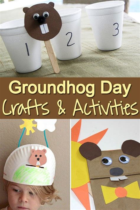 groundhog day activities 812 best winter images on preschool winter