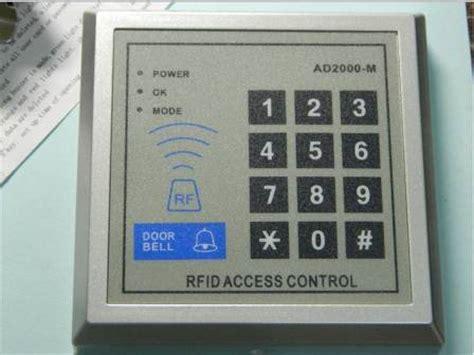 Jual Alarm Mobil Rfid jual rfid access ad2000 m canggih rfid pintu