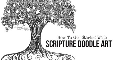 How To Get Started With Scripture Doodle Happy
