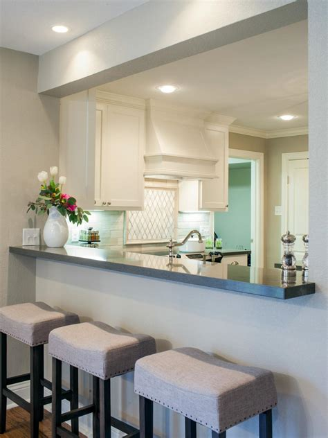 kitchen pass through design photos hgtv