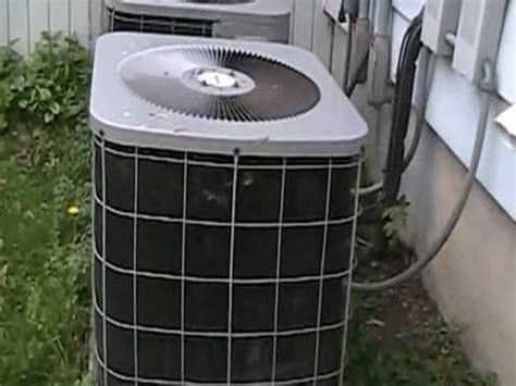 comfort maker ac the comfortmaker air conditioners running youtube