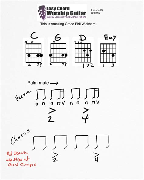 Fine Amazing Grace Guitar Chords Ornament - Chord Sites - creation ...