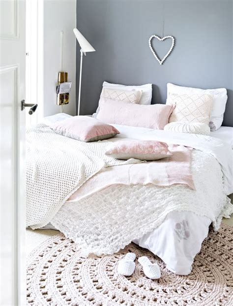 grey pink white bedroom 9 gorgeous white grey and pink interiors that make you