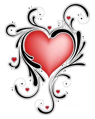 tattooed heart español ingles heart tattoos heart with tribal swirls heart tattoos