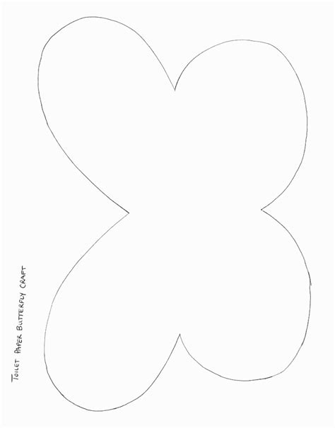 craft templates butterfly wing patterns crafts www imgkid the