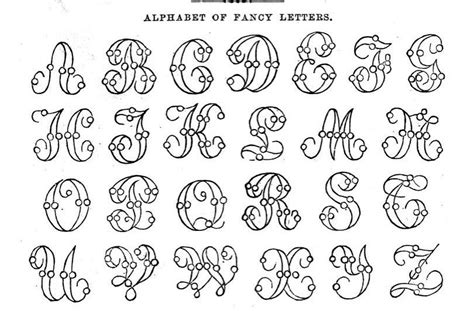 fancy lettering template the vintage moth free fancy letters alphabet