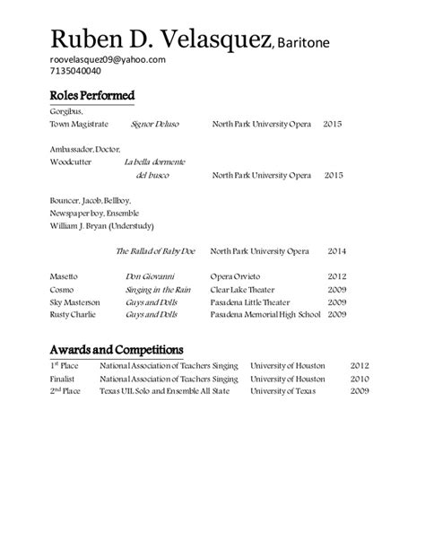 bellboy resume resume ideas