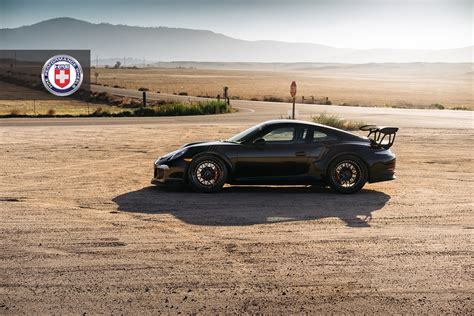 porsche gt3 rs matte black satin black wheels are ideal for the lord of the