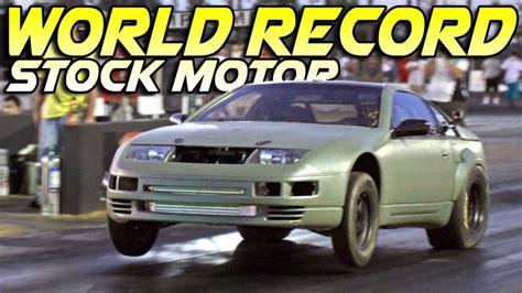 Schnellste 1 4 Meile Auto Der Welt video schnellster serienmotor im nissan 300zx in 9s 252 ber