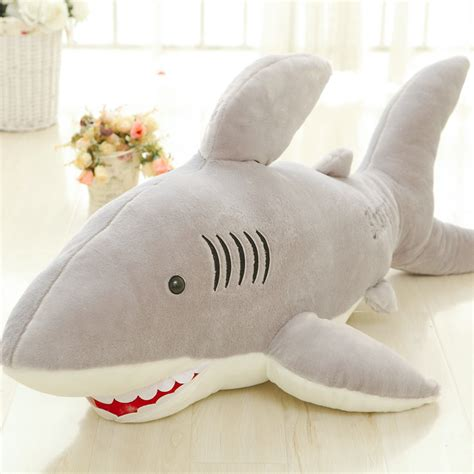 giant shark plush 120cm giant shark plush animals toys for children soft