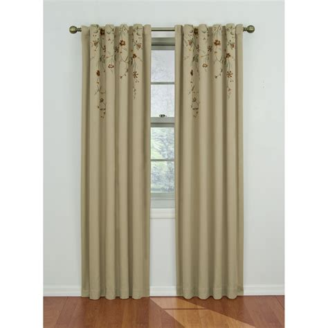 sears outlet curtains eclipse curtains savannah blackout window panel home