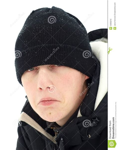 l for winter depression winter depression stock image image of frost gauntlet