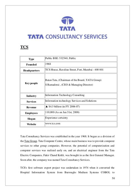 Offer Letter Tcs Best Recruitment Strategies