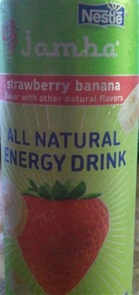 energy drink jamba juice jamba juice all strawberry banana energy drink