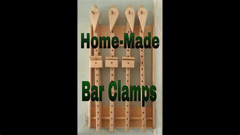 homemade bar clamps youtube