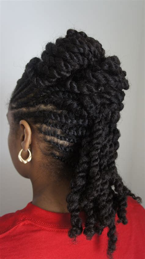 professional flat twist updos natural hair style inspired by fusion of cultures we