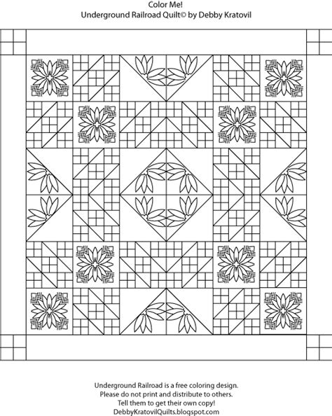coloring pages for underground railroad debby kratovil quilts quilt coloring books again