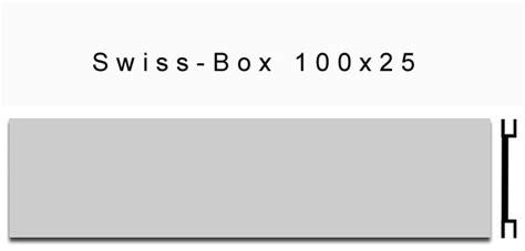 briefkastenschilder swiss box xmm alu elox