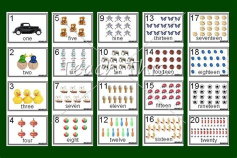 printable numbers 1 20 numbers charts 1 20 printable maths teacher resources