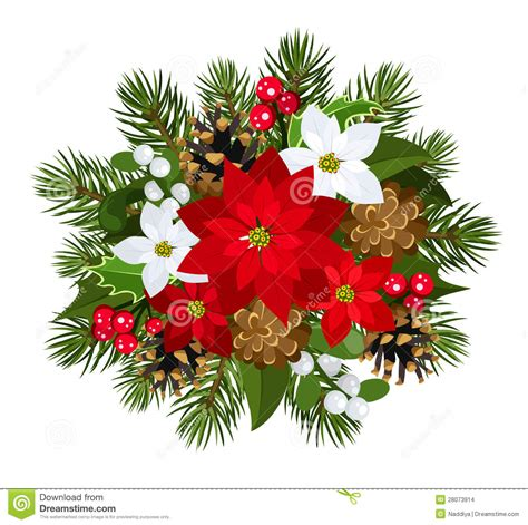 christmas decorations images christmas decoration vector illustration stock vector