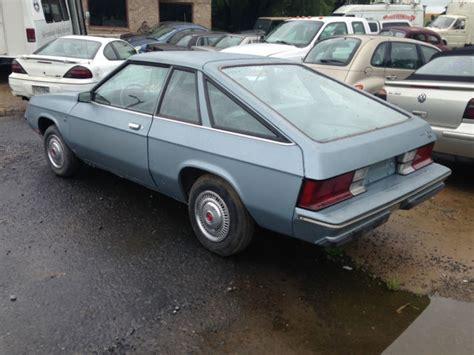 plymouth hatchback classic 1981 plymouth horizon miser hatchback garage kept