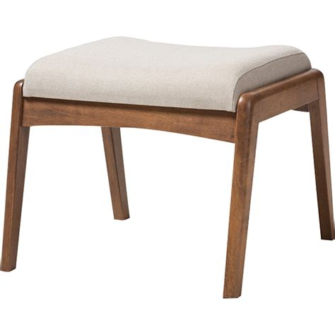 ottoman seating with back roxy upholstered high back chair ottoman light beige