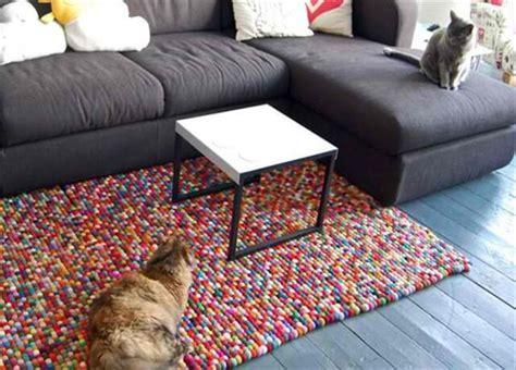 make a felt rug 8 stylish diy rugs for your home diy to make