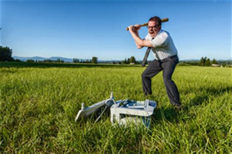 Office Space Smashing Printer by Misquote In Wsj Reveals That End Users Still Their