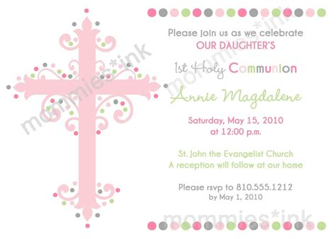 impressive first communion invitation design ideas emuroom