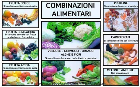 associazione alimenti chicchiricchi di salute abbinamenti alimentari