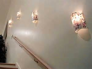 Stairway Sconces Wall Sconces In Stairway