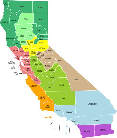 california state map file california economic regions map labeled and colored svg wikimedia commons