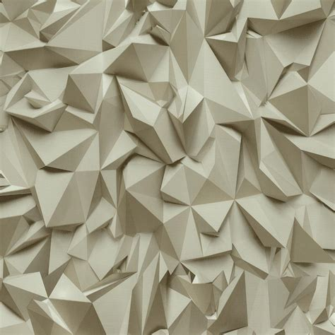 non pattern 3d effect triangle pattern geometric non woven textured