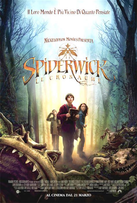 film fantasy bambini poster spiderwick le cronache