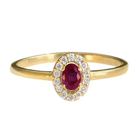 Dainty Engagement Ring Diana Engagement Ring Do by Mini Diana Ring Oval Ruby And Diamonds Ring Stacking