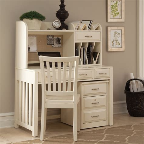 manhattan open computer desk with adjustable shelf white liberty furniture hton bay writing desk with optional