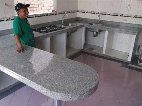 fotos de cocinas empotradas granito marmol lima cocinas