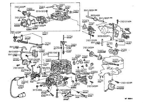 22r carburetor diagram toyota 22r carburetor diagram autos post
