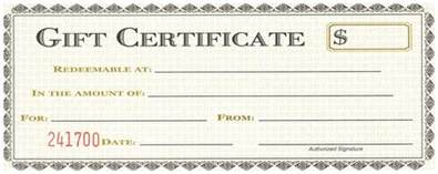 Gift Certificate Printable Template Free by Doc 750320 Printable Gift Certificates Templates Free