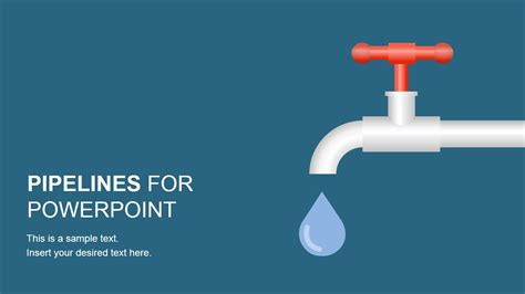 Pipeline Shapes Powerpoint Template Slidemodel Powerpoint Template For