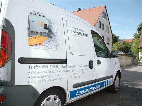 Fahrzeugbeschriftung Elektro by Flottenbeklebung Elektro H 246 Ssbacher Focus
