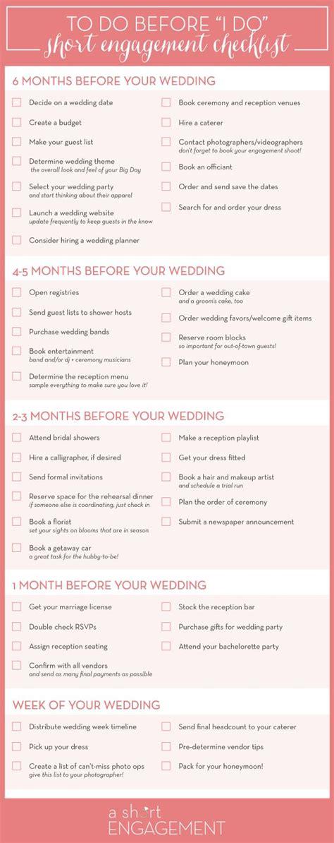 Wedding Checklist Usa by Best 25 Wedding Checklist Timeline Ideas On