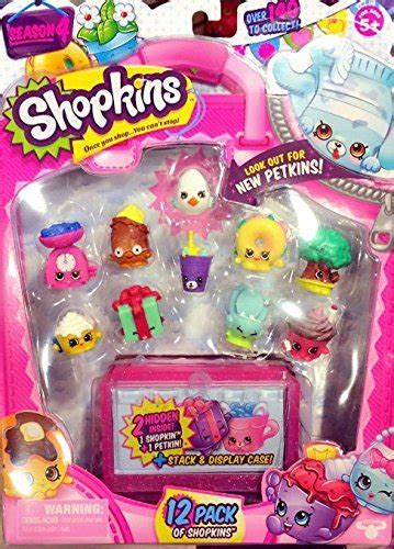 official shopkins season 4 12pcs each pack styles will