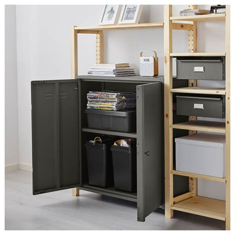 ivar 2 sections shelves cabinet ikea ivar 2 sections shelves cabinet pine grey 134x30x179 cm ikea