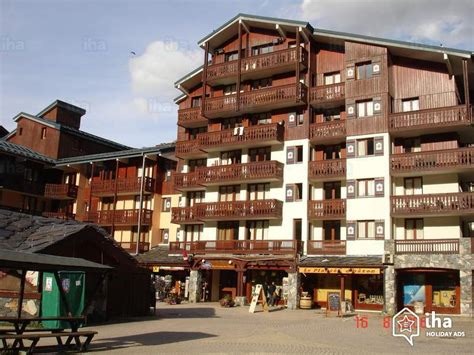 tignes appartments flat apartments for rent in tignes val claret iha 3469