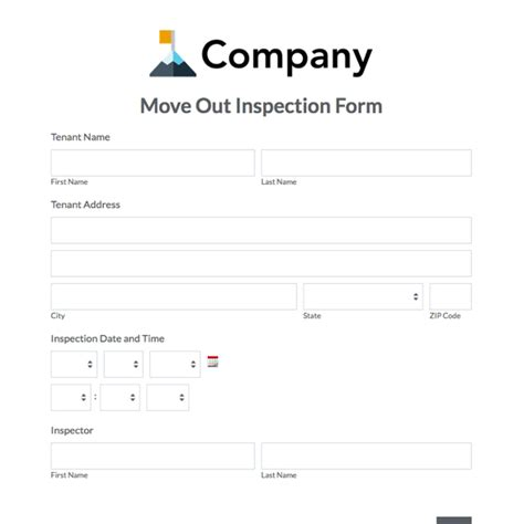 tenant check out form template tenant move out form notice to vacate virginia