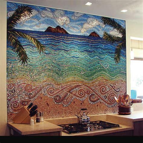 18 Gleaming Mosaic Kitchen Backsplash Designs Kitchen Mosaic Designs