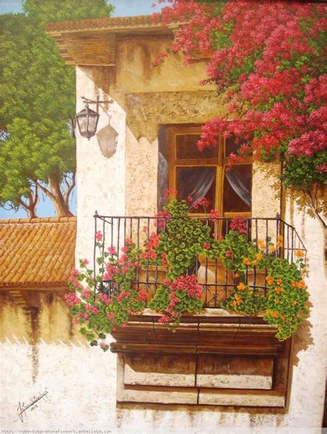 miniature gardening com cottages c 2 art fine arte pinterest ventana pinturas y hermosa