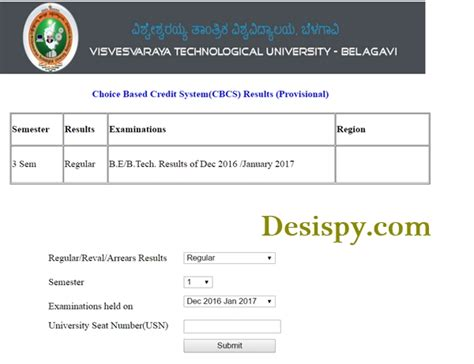 Vtu Mba Cbcs Syllabus 2017 by Results Vtu Ac In Vtu 3rd Sem Cbcs Results 2017 B E B